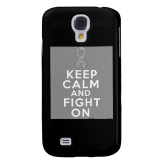 Diabetes Keep Calm and Fight On Galaxy S4 Case