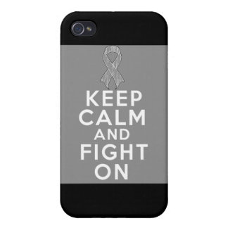 Diabetes Keep Calm and Fight On iPhone 4/4S Case