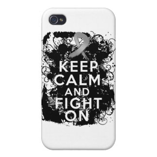 Diabetes Keep Calm and Fight On iPhone 4 Case