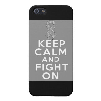 Diabetes Keep Calm and Fight On iPhone 5 Covers