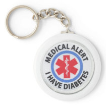 diabetes keychain
