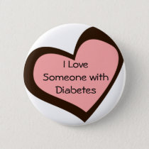 Diabetes Love Pin