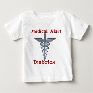 Diabetes Medical Alert Silvear Asclepius Caduceus Shirt