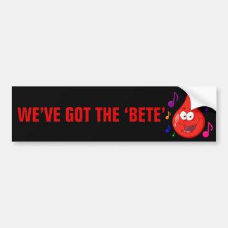 Diabetes Musical Car Bumper Sticker