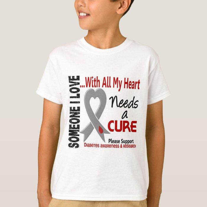 Diabetes Needs A Cure 3 T-Shirt