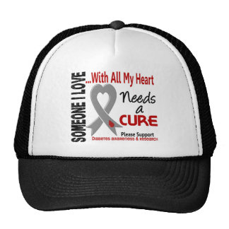 Diabetes Needs A Cure 3 Trucker Hat