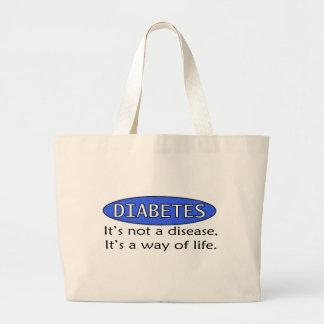 Diabetes: No es una enfermedad, él es una manera d Bolsas De Mano
