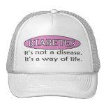 Diabetes: No es una enfermedad, él es una manera d Gorros