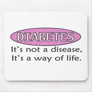 Diabetes: No es una enfermedad, él es una manera d Mouse Pad