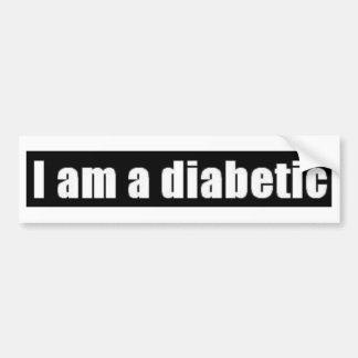 Diabetes Pegatina Para Auto