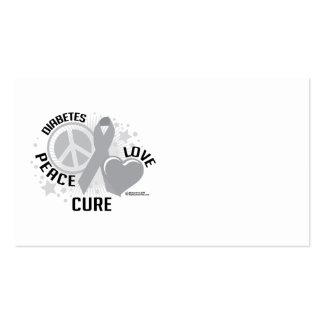 Diabetes PLC Business Card
