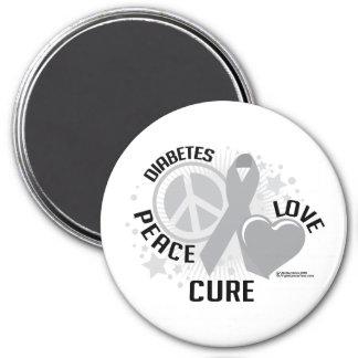 Diabetes PLC Fridge Magnets