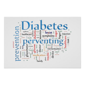 Diabetes Preventing Poster