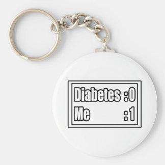 Diabetes Scoreboard Keychain