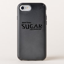Diabetes Slow Down Sugar I'm Diabetic Speck iPhone Case