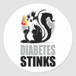 Diabetes Stinks Stickers