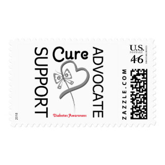 Diabetes Support Advocate Cure Postage Stamp