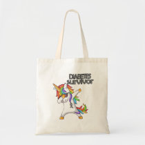 DIABETES Survivor Stand-Fight-Win Tote Bag