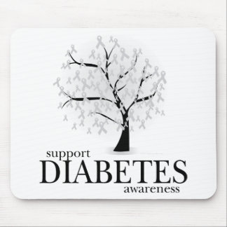Diabetes Tree Mouse Pad