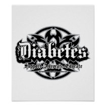 Diabetes Tribal Poster
