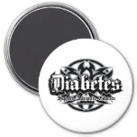 Diabetes Tribal Refrigerator Magnet