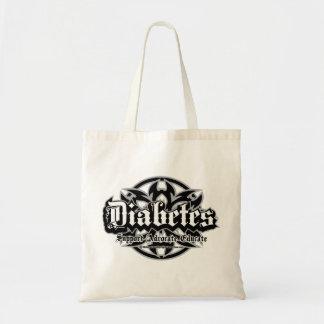 Diabetes Tribal Tote Bag
