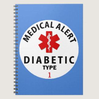 DIABETES TYPE 1 NOTEBOOK