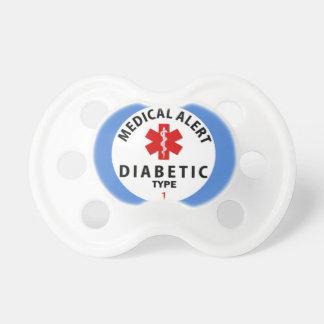 DIABETES TYPE 1 PACIFIER