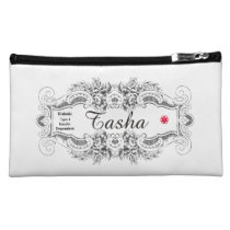 Diabetes Type 1 White Cosmetic Bag