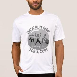 Diabetes Walk Run Ride For A Cure Tee Shirt