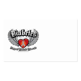 Diabetes Wings Business Card