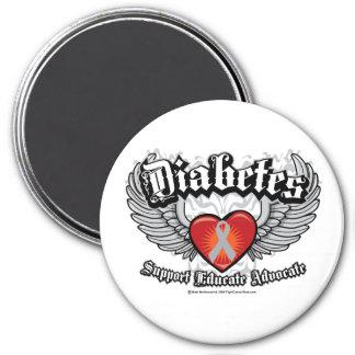 Diabetes Wings Magnets