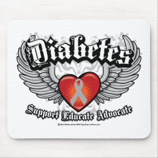 Diabetes Wings Mouse Pad