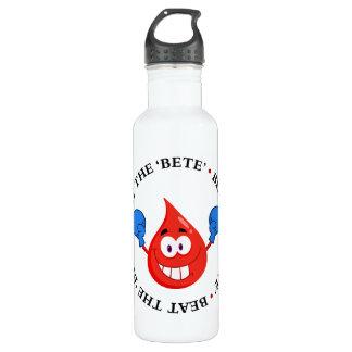 Diabetes Won't Beat Me Water Bottle