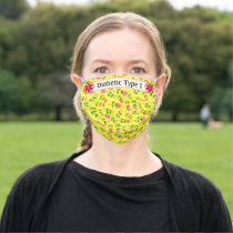 Diabetic Alert Cloth Face Mask