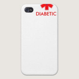 Diabetic Alert - iPhone 4 Case - Basic