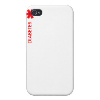 Diabetic Alert - iPhone 4 Case - Discrete