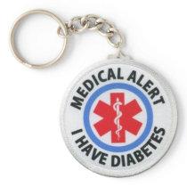 Diabetic Alert Keychain