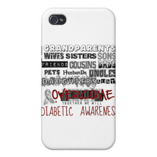 DIABETIC AWARENESS iPhone 4/4S CASE