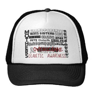 DIABETIC AWARENESS MESH HAT