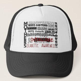 DIABETIC AWARENESS TRUCKER HAT