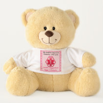 Diabetic Bear Personalized