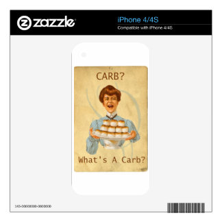 Diabetic Carb Diet Funny Skins For The iPhone 4