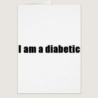 Diabetic Card