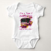 Diabetic Diva Baby Bodysuit