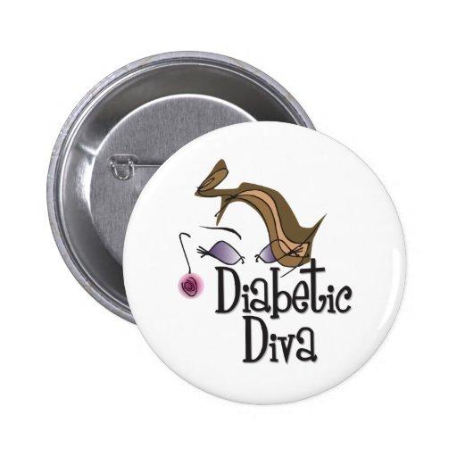 Diabetic Diva Button