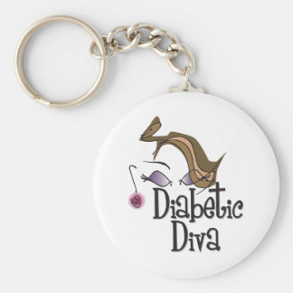 Diabetic Diva Keychain
