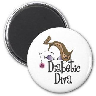 Diabetic Diva Magnet