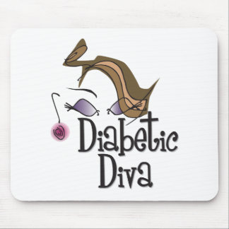 Diabetic Diva Mouse Pad