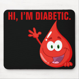 Diabetic Introduction Mouse Pad